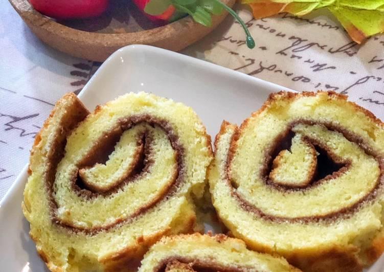 Roll Cake ala Bolu Hongkong made by Tiger Kitchen