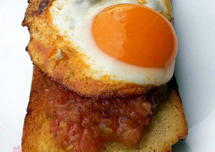 Recipe of Quick Tomato And Egg Breakfast
