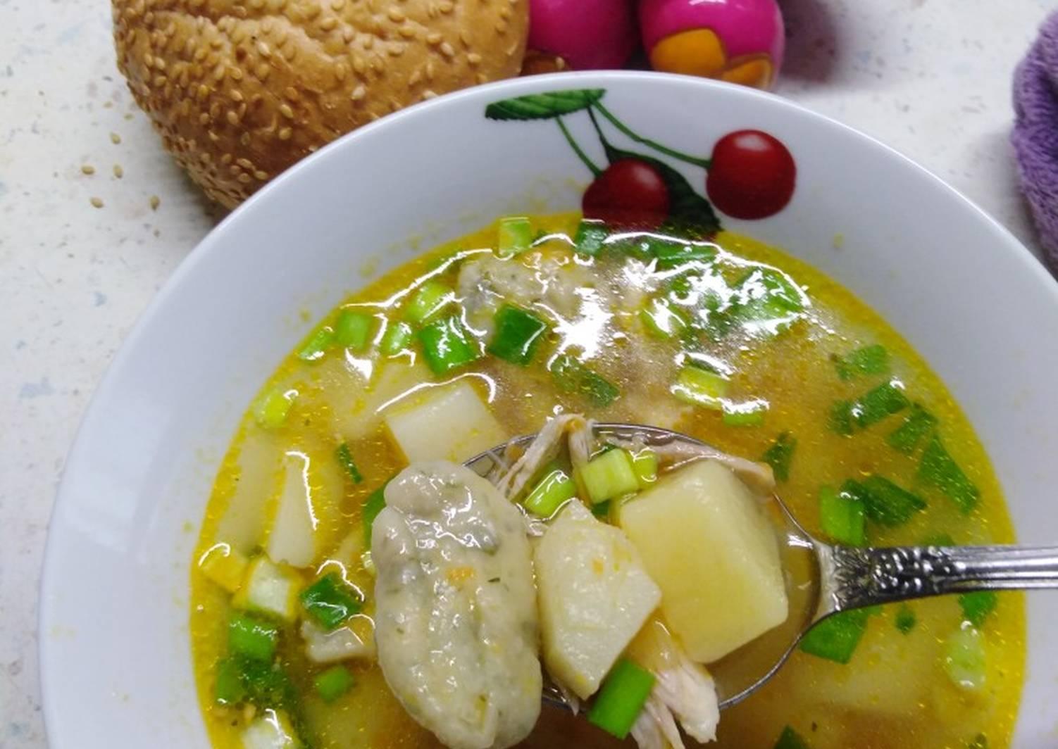 менее, суп с галушками фото рецепт приготовления идеально подходит для