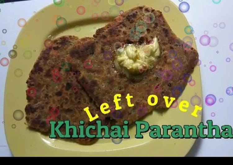 Leftover khichdi parantha - Laurie G Edwards