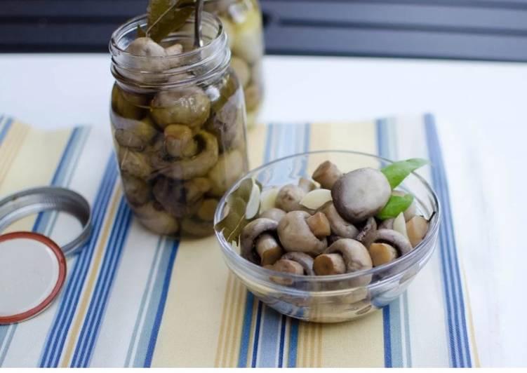 Recipe: Appetizing Marinade mushrooms