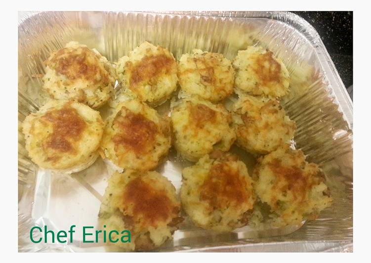 Step-by-Step Guide to Prepare Award-winning Broccoli, cheese and chicken cups