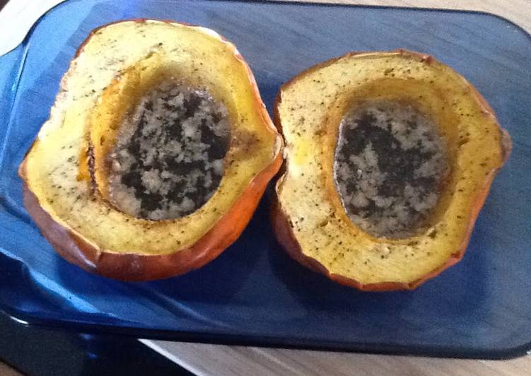Easiest Way to Cook Appetizing Autumn Acorn Squash With Buttery Brown Sugar
