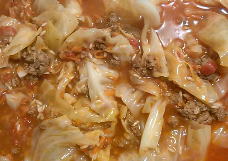 Recipe of Favorite Unstuffed Cabbage Stoup