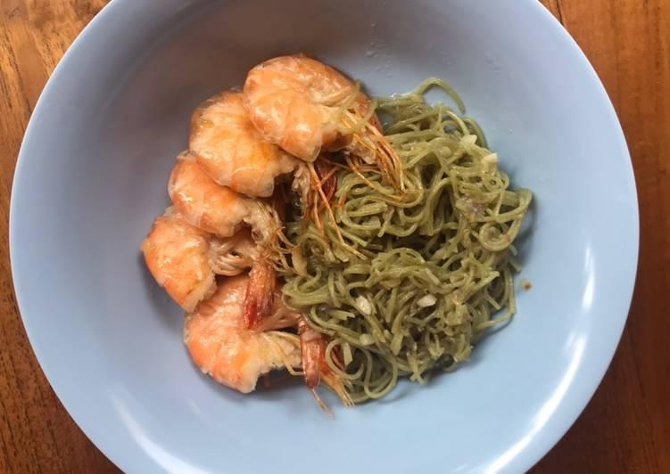 Resep Makanan Anak Mie Goreng Udang Paling Enak