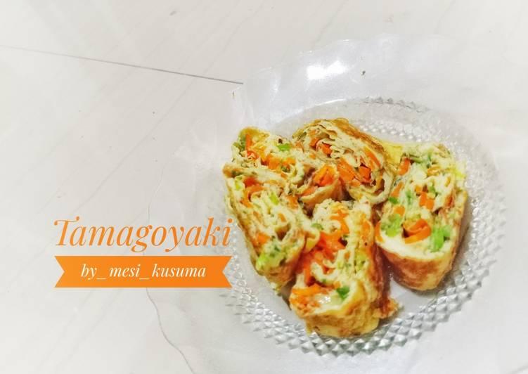 Resep 41. Tamagoyaki (telur dadar jepang) Bikin Ngiler