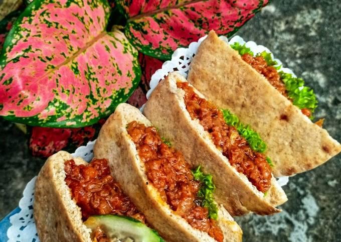Poket Ajaib Udang & Daging Sweet Sour