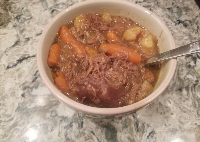 Winging it Pot Roast Stew