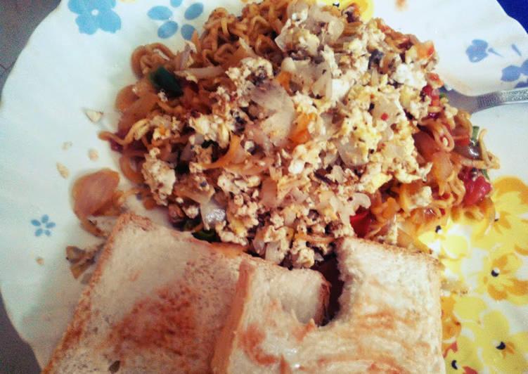 Scrambled Egg Noodles