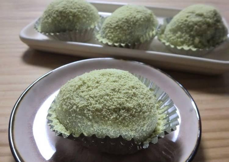 Recipe of Any-night-of-the-week Easy Uguisu Mochi to Enjoy All Year Round