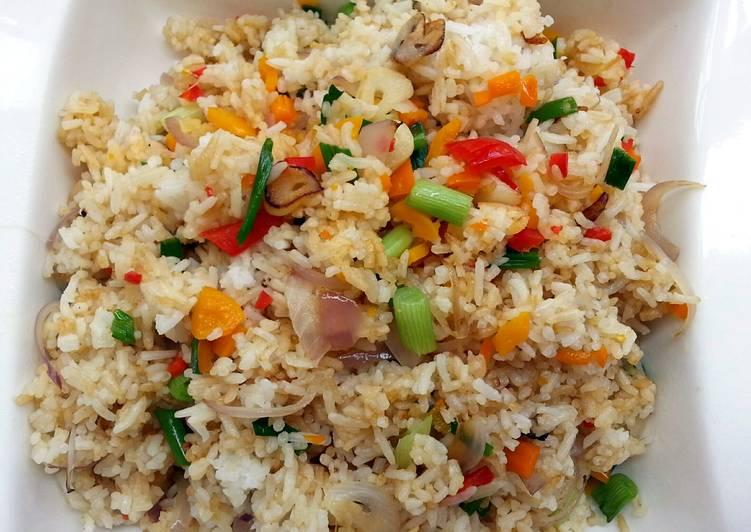 Vegan Fried Rice In 5 Minutes