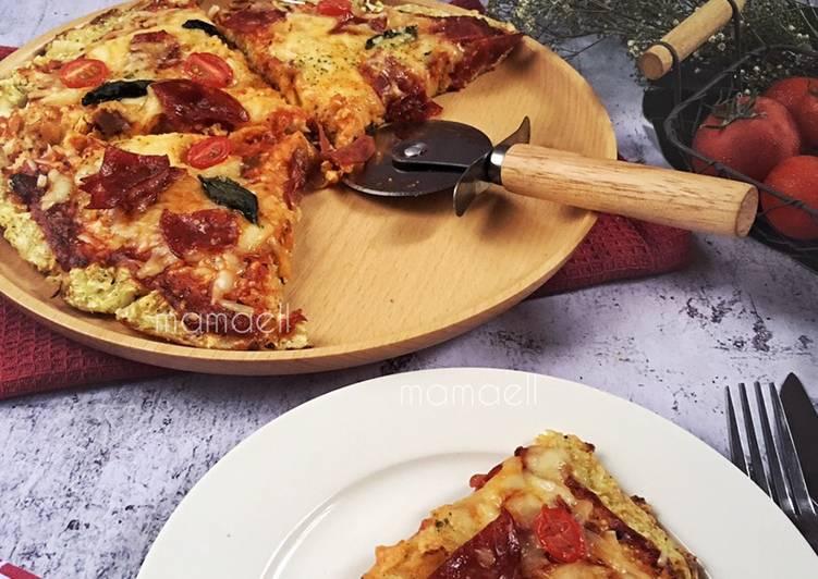 Cara Mudah Masak: Cauliflower Pizza #ReverseDiabetesObesity  Terbaru