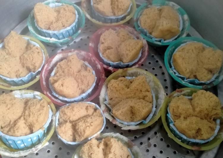 Cara Membuat Bolu kukus gula merah, Enak Banget