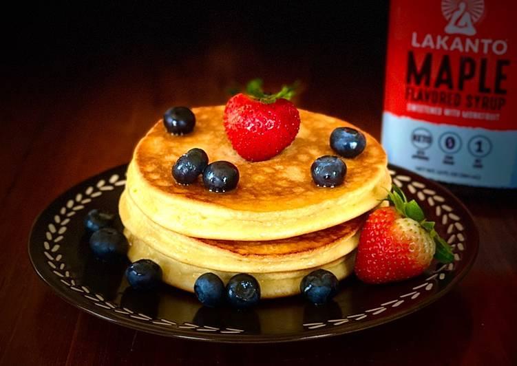 Cara mudah membuat Keto Pancake 🥞
