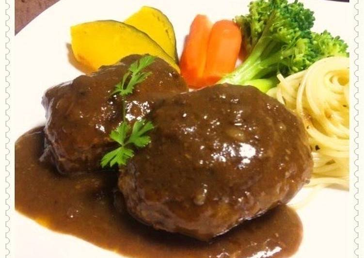 Easy Hamburger Steak with Sauce
