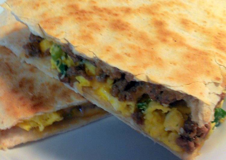 How to Cook Appetizing Breakfast Quesadilla