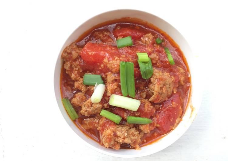 Ground Pork Spaghetti Sauce