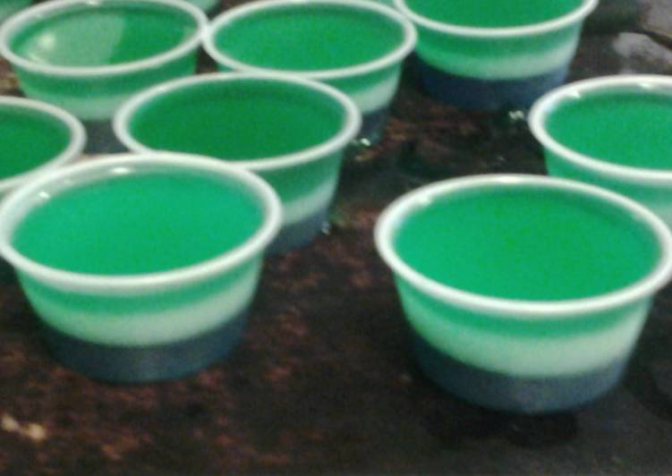 Seahawks jello shots