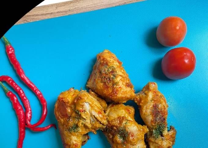 Ayam singgang bakar