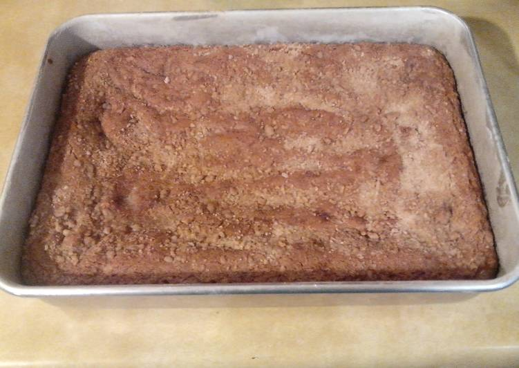 Granny's Cowboy Coffee Cake