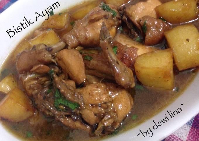 bistik daging ayam rasamasa bistik daging resep bistik ayam super enak   lihat Resepi Daging Kambing Cincang Enak dan Mudah