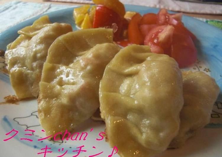 Recipe of Perfect Homemade Gyoza Skins with Egg & Cake Flour