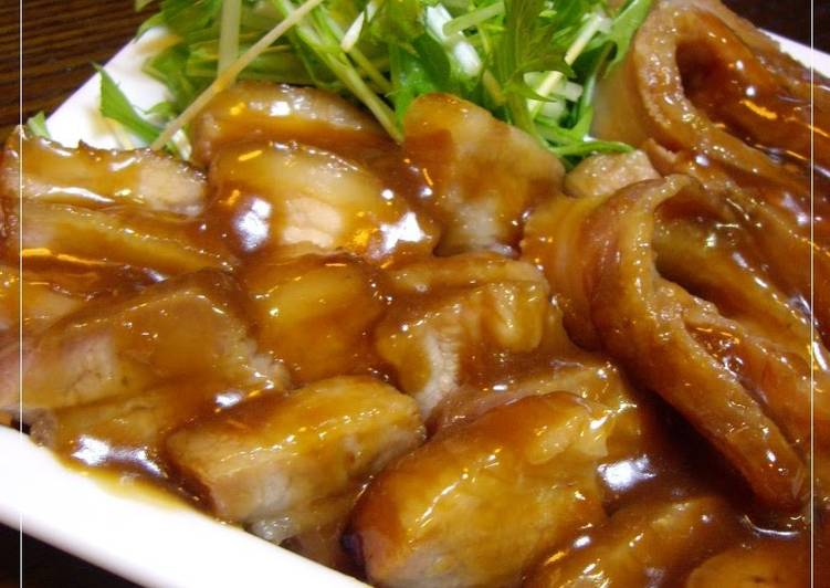 Living Greener for Greater Health By Dining Superfoods Sweet and Savory Oven-Braised Pork Belly