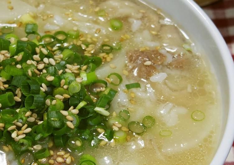 Korean Food Beef Tendon Gumtang Style Collagen Gukbap - Laurie G Edwards
