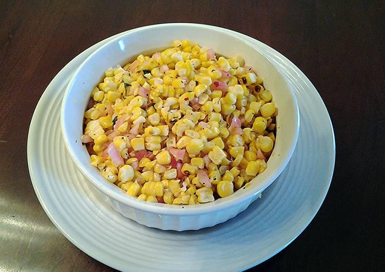 Grandmother's Dinner Ideas Super Quick Homemade Grilled Corn Salad