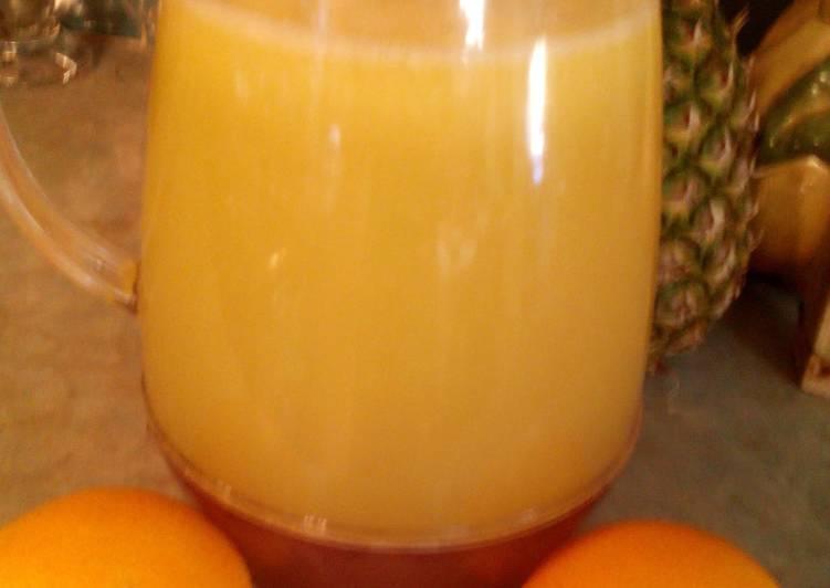 Sunshine's freshly squeezed orange juice