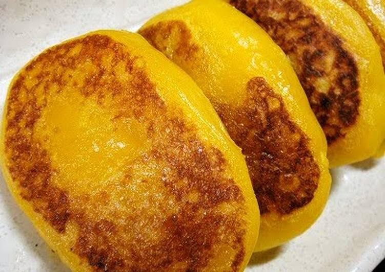 How to Make Super Quick Homemade Easy! Chewy Kabocha Squash Mochi