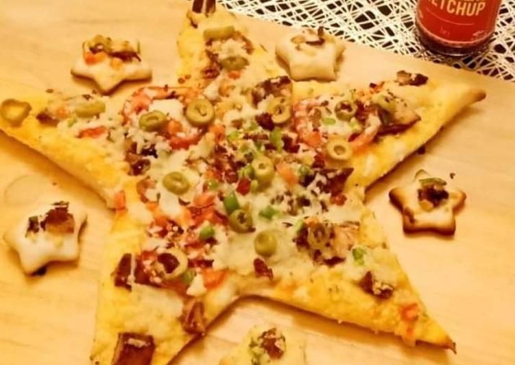 Easiest Way to Cook Delicious Habanero steak pizza