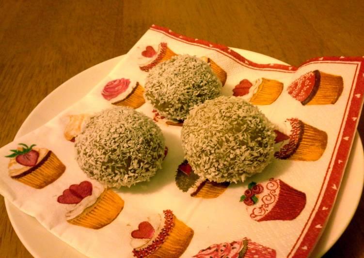 Ginger crunch fudge truffles