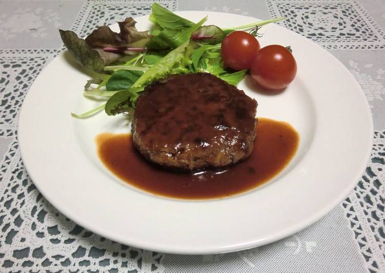 Extremely Juicy! Light and Tender Hamburger Steaks