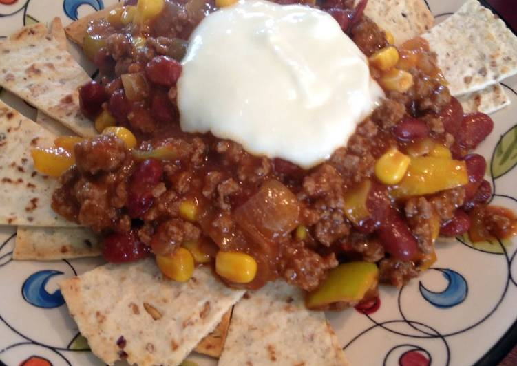 Recipe of Perfect Healthy Nachoes