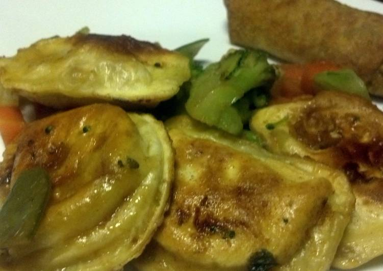 Pierogy Stir Fry