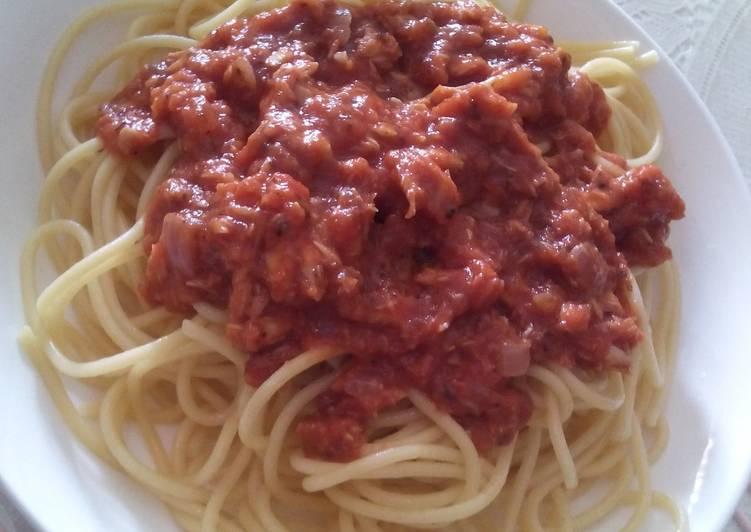 Pam's Tuna pasta...