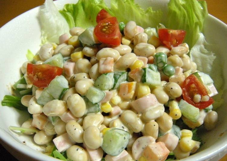 Easiest Way to Cook Perfect Soy Bean Salad
