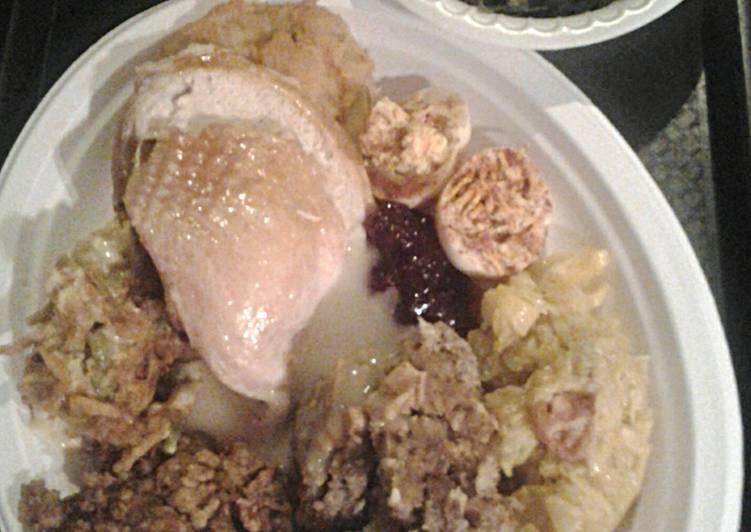 Recipe of Ultimate Turkey Broth, Homemade
