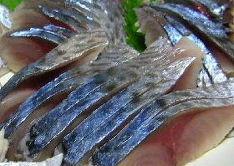 Use Food to Improve Your Mood Standard Shime Saba (Pickled Mackerel)