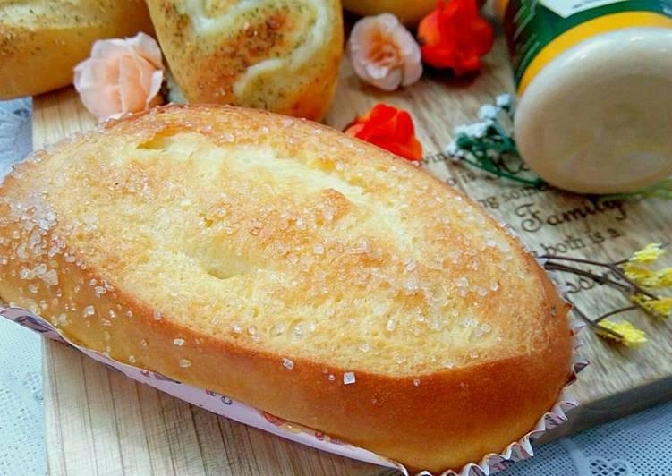 Resep Roti manis simple tapi lembut oleh Servia Madian. - Cookpad