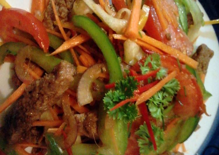 Amy's Beef Stir Fry