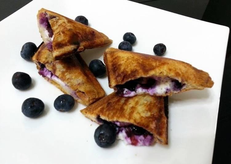 Blueberry Toaster Sandwich