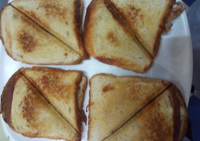 Recipe: Tasty Toasted chicken sandwich