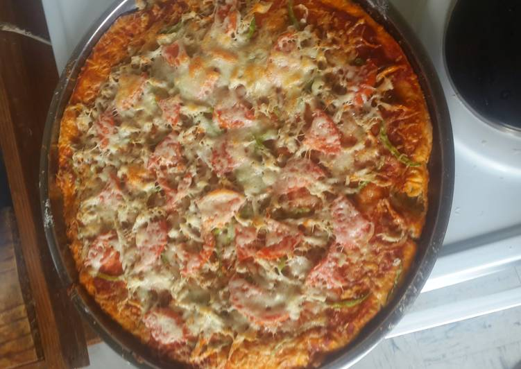 Easiest Way to Prepare Tasty 2 ingredient pizza base