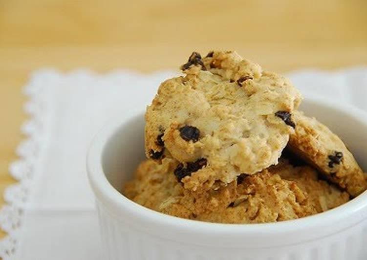 5 Minute How to Make Love Macrobiotic Muesli Cookies