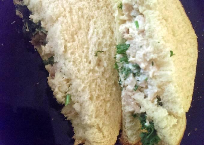 Refreshing Skin Clearing Tuna Sandwich