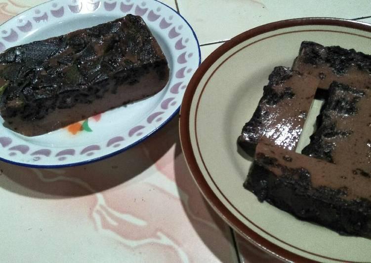 Puding🍮 Oreo Coklat Manis 🍫