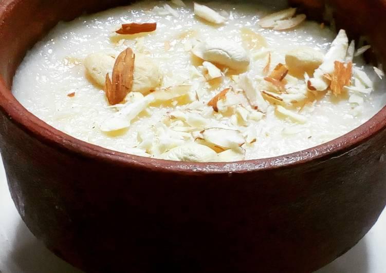 Rice kheer (indian dessert)