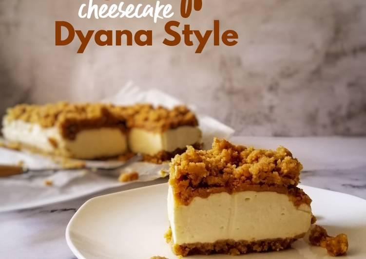 Biscoff Cheesecake Dyana Style